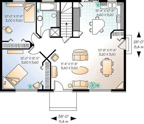 2 bedroom cottage plans high resolution two bedroom house plans 6 2 bedroom house