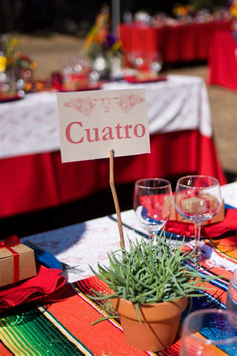 mexican themed wedding la vita bella