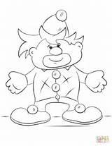 Clown Coloring Cartoon Mcdonald Ronald Pages Printable Dumbo Circus Shy Colorings Drawing Getdrawings Getcolorings Supercoloring Categories sketch template