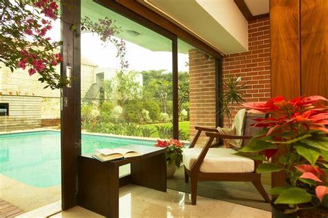 modern sunroom poolhouse interior design ideas