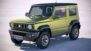 Suzuki Jimny 2018 Model : suzuki jimny 2018 3d model turbosquid 1319757 ~ Maxctalentgroup.com Avis de Voitures