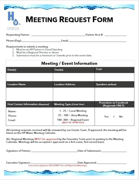 request  meeting template stagingusasportinfo