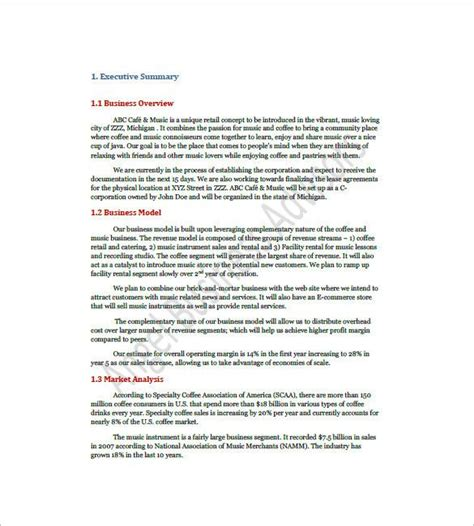 A coffee shop business plan is a formal document that is created as part of the preparations for opening or starting a new coffee shop business. 20 Coffee Shop Business Plan Template (2020) | Business plan template
