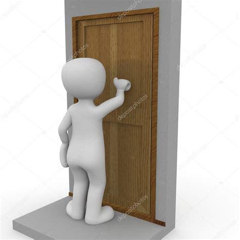 frapper a la porte frapper 224 la porte photographie 3d agentur 169 25771005
