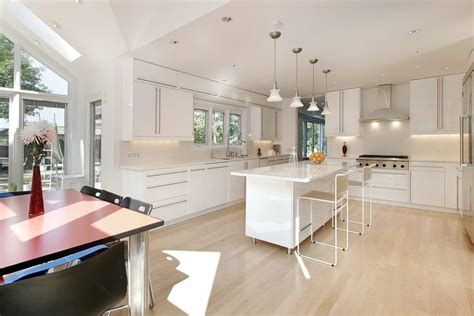 white kitchen light floors 32 spectacular white kitchens with honey and light wood 430 | 29 white kitchen light and honey wo 870x580