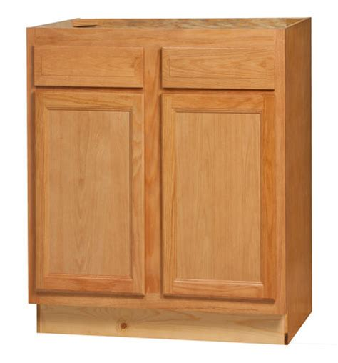 kitchen kompact chadwood 30rbs oak sink base cabinet at