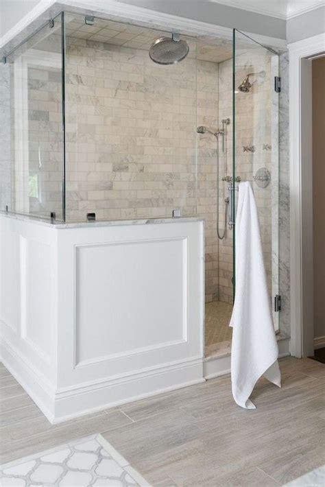 Master Bathroom Tile Ideas by 44 Rustic Farmhouse Bathroom Ideas Shower Design
