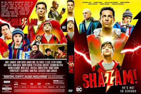 shazam dvd covers labels  covercity