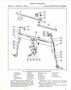 Massey Ferguson Mf65 Tractor Service Repair Manual