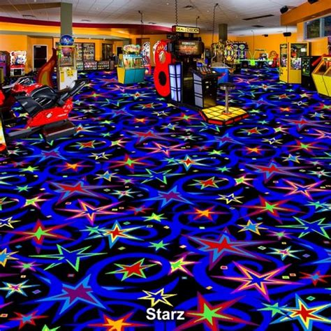 Family Arcade (fun Center) Carpet Black Light (blacklight