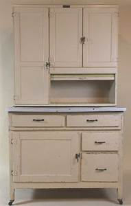 antique painted marsh hoosier kitchen cabinet With best brand of paint for kitchen cabinets with salt stone candle holder