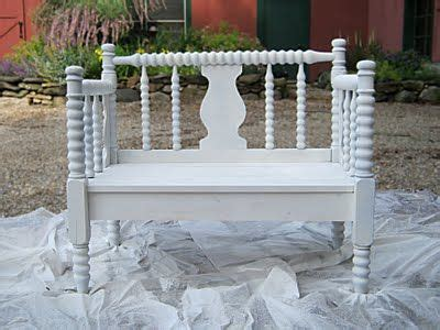 How To Make A Footboard by How To Make A Bench Out Of A Headboard And Footboard From
