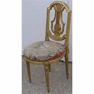 Chaise Louis Xvi : chaise lyre style louis xvi sur moinat sa antiquit s d coration ~ Teatrodelosmanantiales.com Idées de Décoration