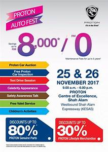 Proton Auto Fest This Weekend Up To RM8k Savings On New