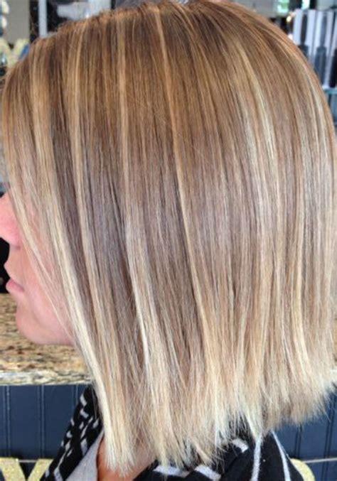 balayage  straight hair short medium length long
