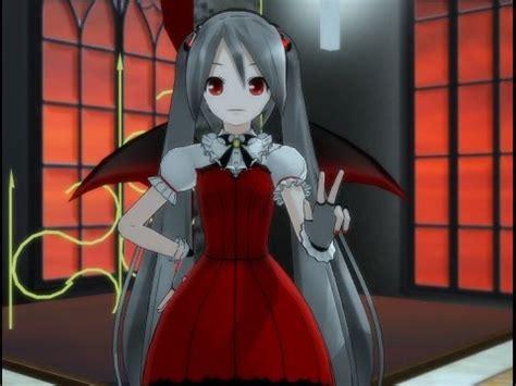 Mmd Miku Hatsune Vampire Life Queen Youtube