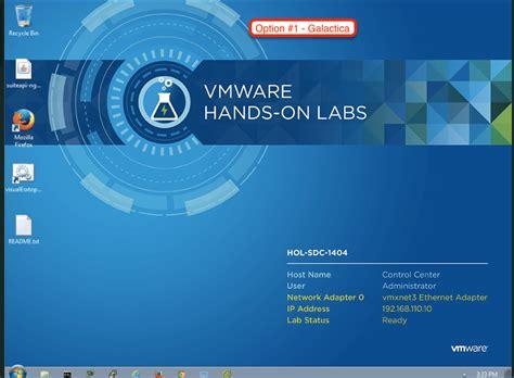 hands  labs   year  vmware hands  lab