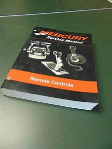 Mercury Remote Control Service Manual 814705r03 For Sale Online