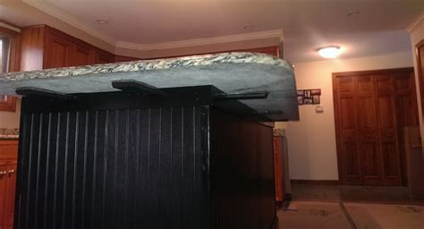 granite bracket standard with 4 set mounting holes