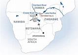 Zambezi River Africa Map | Campus Map