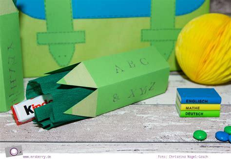 geschenke zur einschulung basteln geschenke sch 246 n verpacken buntstifte basteln