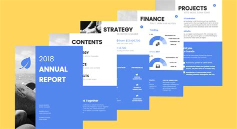 Annual Report Template Venngage Free Infographic Maker