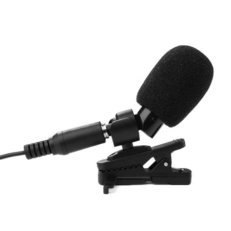 iphone external microphone external clip on lapel lavalier microphone for iphone