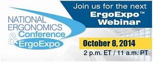 Ergoexpo Webinar  Casters And Ergonomics