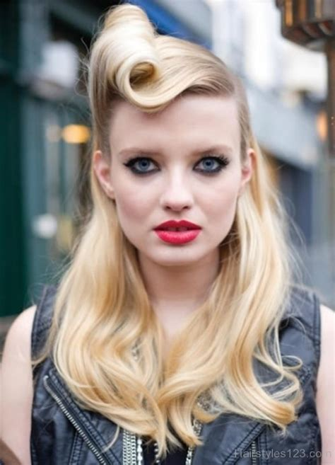 awesome retro hairstyles  layered hairs