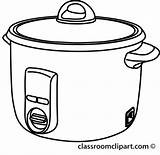 Pot Outline Rice Clipart Crock Cooker Cooking Cliparts Clip Transparent Vector Presentations Websites Reports Members Powerpoint Projects sketch template