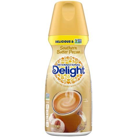 Butter peacan is always tasty! International Delight Southern Butter Pecan Coffee Creamer (16 fl oz) - Instacart