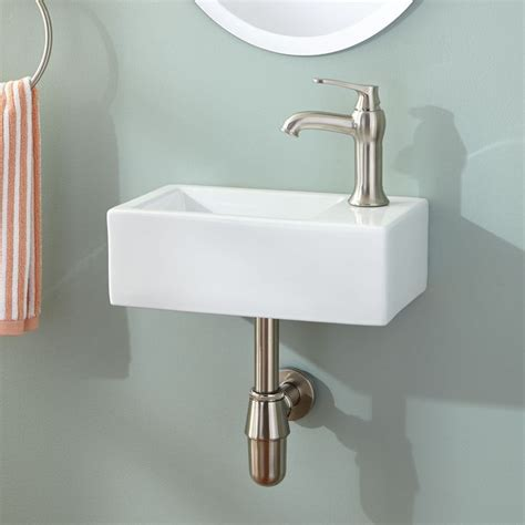narrow wall mount sink sinks 2017 very small bathroom sinks home depot sinks