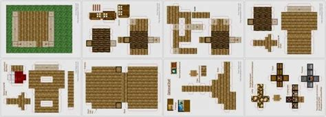 minecraft house templates paper minecraft house template www pixshark images galleries with a bite