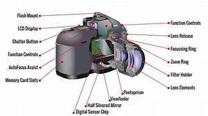 Pentax Camera Diagram