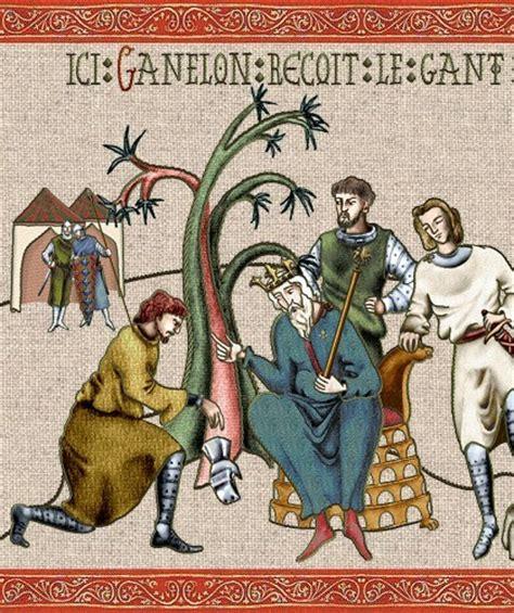 la chanson de roland page 3 ganelon re 231 oit le gant adieux de ganelon complot contre roland