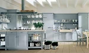 la cuisine de style campagne italienne revisitee par With ordinary meuble style campagne chic 0 cuisine noire style bistrot cuisine pinterest
