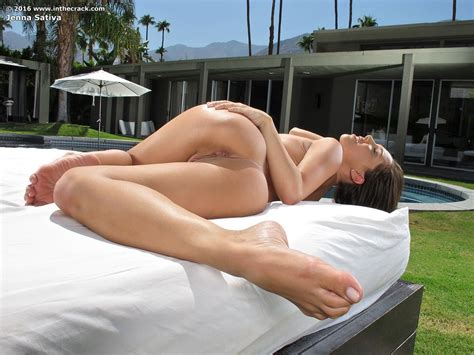 Jenna Sativa Wet Ass And Pussy Lovely Brunettes