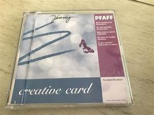 Pfaff 7570 Embroidery Cards