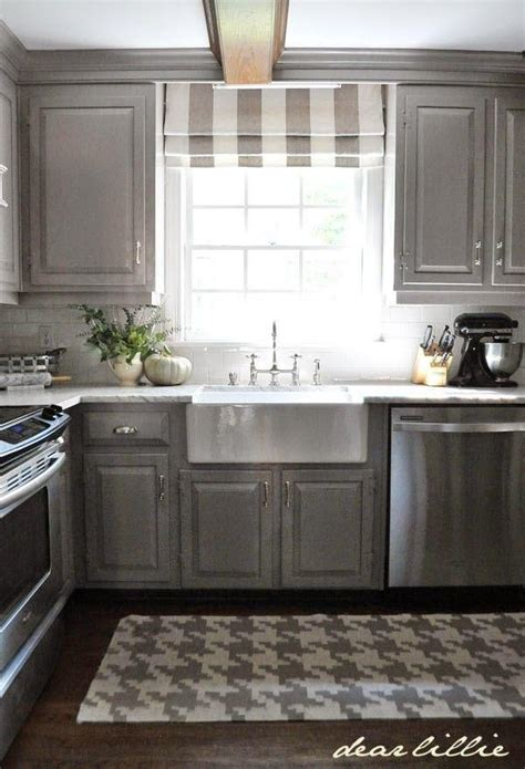 Gray Stained Cabinets by 25 Best Ideas About Gray Stained Cabinets On