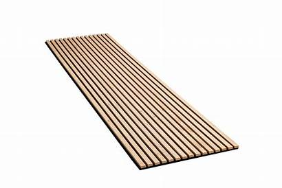 Oak Natural Slatwall Panels Wood Slat Sound