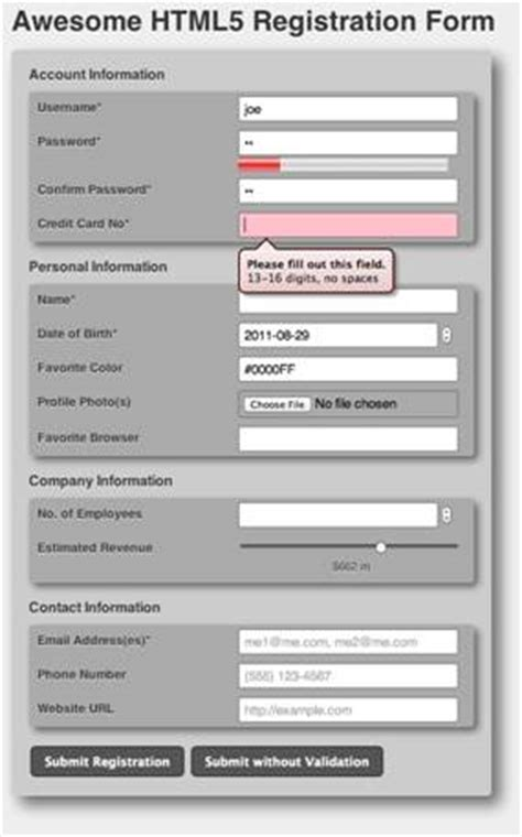 html5 in action changing the face of web forms with new