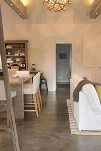 70, Smooth, Concrete, Floor, Ideas, For, Interior, Home, 45