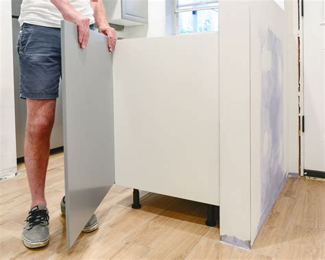 ikea base cabinets without legs perfecting the imperfect in our ikea kitchen fillers