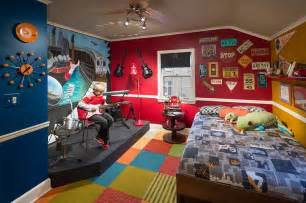 Kids Bedroom with Stage
