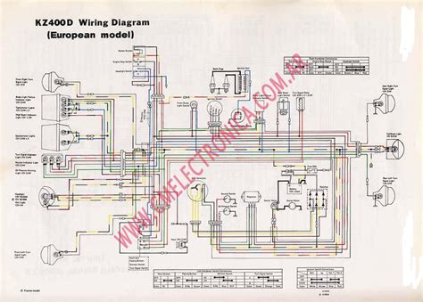 Kawasaki Kz750 Wiring Diagram by Kz1000 Wiring Diagram Wiring Library