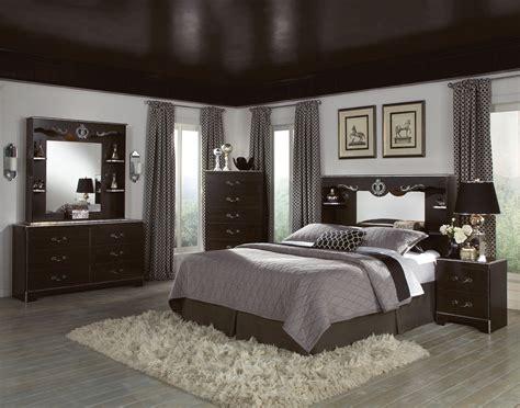 bedroom wall colors  dark brown furniture home