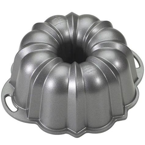 bundt pan nordic ware pans cake platinum anniversary collection amazon baking pound tins cup cakes fluted mix cookware glass nonstick