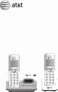 At U0026t Cordless Telephone El52303 User Guide