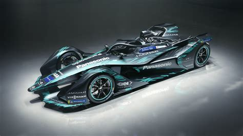 E Car by 2018 Jaguar I Type Electric Formula E Car 4k Wallpaper