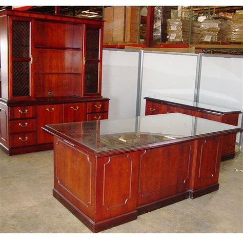 glass executive desk office furniture dallas office furniture used executive desk set new
